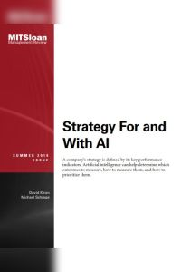 Strategy For and With AI summary