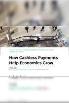How Cashless Payments Help Economies Grow