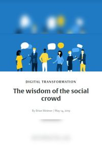 The Wisdom of the Social Crowd summary