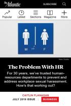 The Problem with HR