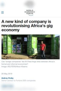 A New Kind of Company Is Revolutionising Africa's Gig Economy summary