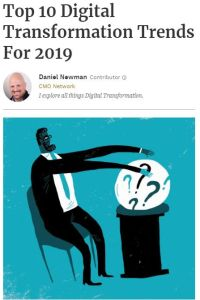 Top 10 Digital Transformation Trends for 2019 summary
