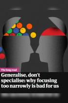Generalise, Don't Specialise
