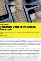 Perpetual Debt in the Silicon Savannah