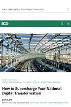 How to Supercharge Your National Digital Transformation