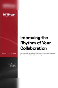 Improving the Rhythm of Your Collaboration summary