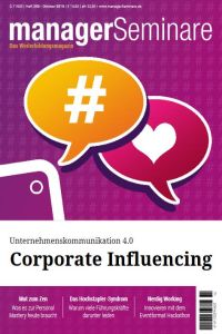 Corporate Influencing Zusammenfassung