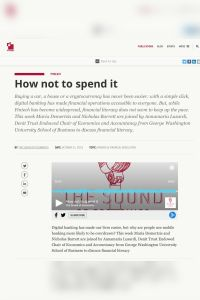 How Not to Spend It summary