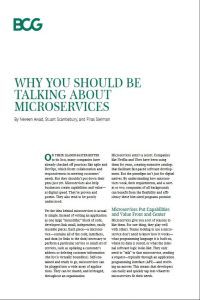 Why You Should Be Talking About Microservices summary