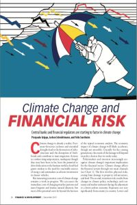 Climate Change and Financial Risk summary