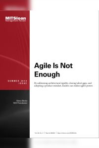 Agile Is Not Enough summary