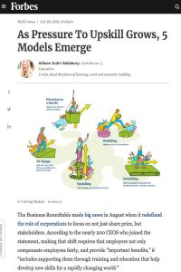 As Pressure to Upskill Grows, 5 Models Emerge summary