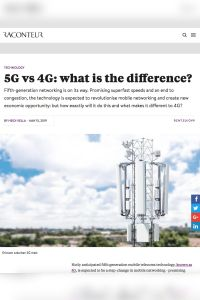 5G vs 4G: What Is the Difference? summary