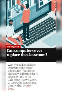 Can Computers Ever Replace the Classroom? summary