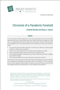 Chronicle of a Pandemic Foretold summary