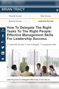 How to Delegate the Right Tasks to the Right People summary
