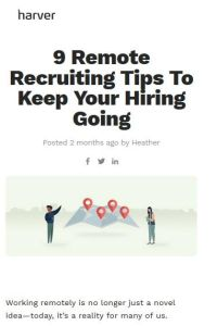 9 Remote Recruiting Tips To Keep Your Hiring Going summary