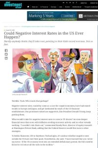 Could Negative Interest Rates in the US Ever Happen? summary