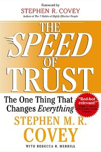 The Speed of Trust book summary