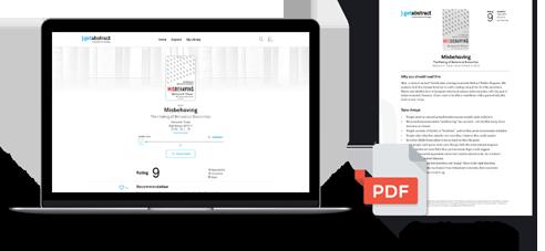 Zusammenfassungen für Computer und als Ausdruck im PDF-Format